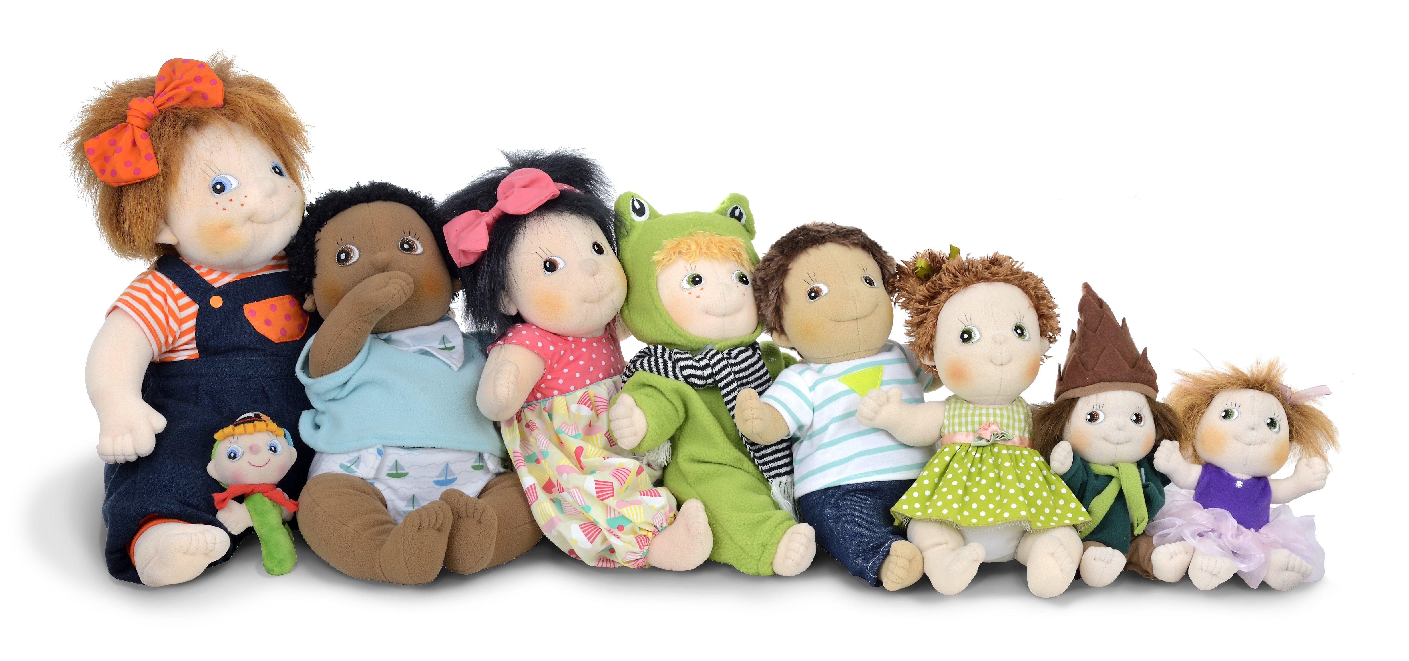 Familia de muñecas Rubens Barn
