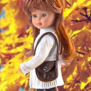 Nancy Mañana de Invierno con bolso