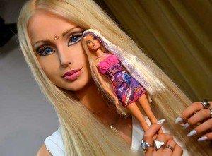 Foto personal real igual que muñeca