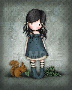 Ilustración Gorjuss Suzanne Woolcott