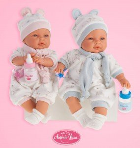 Foto pareja de bebés Bimbo y Bimba