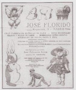 Foto cartel de la fábrica de José Florido