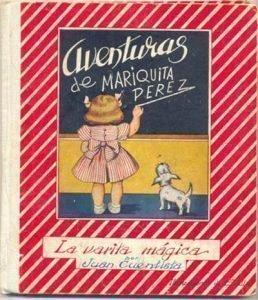 Foto de la portada del libro las Aventuras de Mariquita Pérez