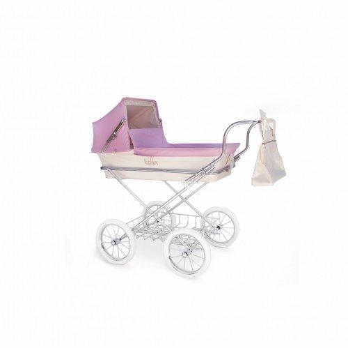 Foto cochecito de paseo miniparís rosa de Bebelux