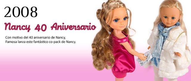 Foto co-pack Nancy 40 aniversario reedición 2008