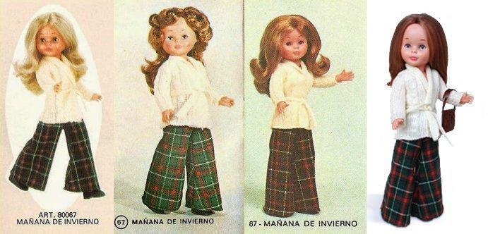 Foto de los distintos modelos de Nancy Mañana de Invierno