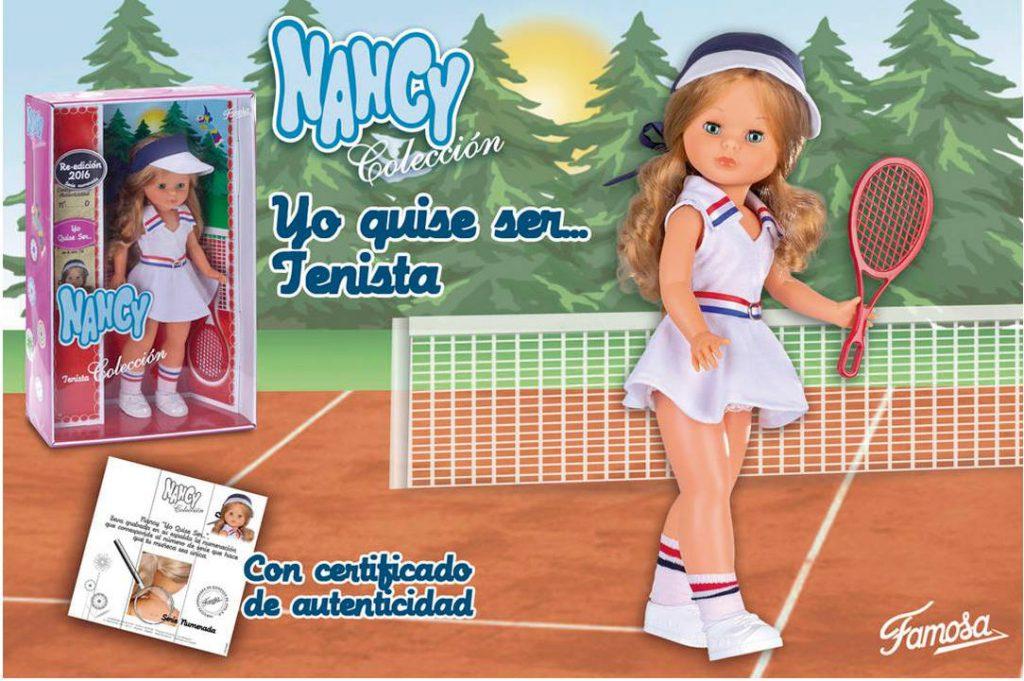 Foto reedición Nancy yo quise ser tenista, reedición 2016
