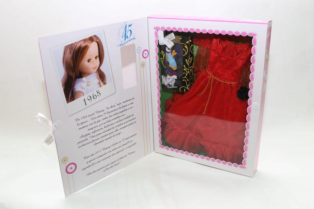 Foto vestido fantasía muñeca Nancy colección 45 aniversario