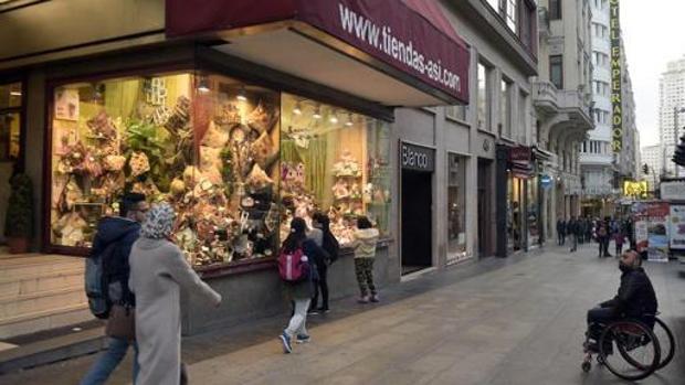 Foto de la tienda de muñecas La Casa de las Muñecas de Madrid