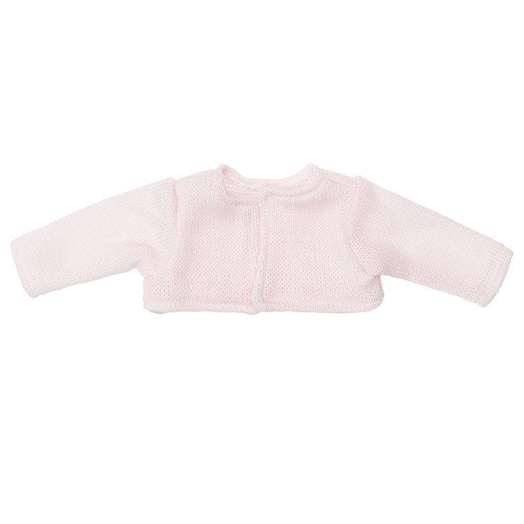 Foto chaqueta de punto rosa para muñecas de 46 a 46 centímetros de la marca de muñecas Así