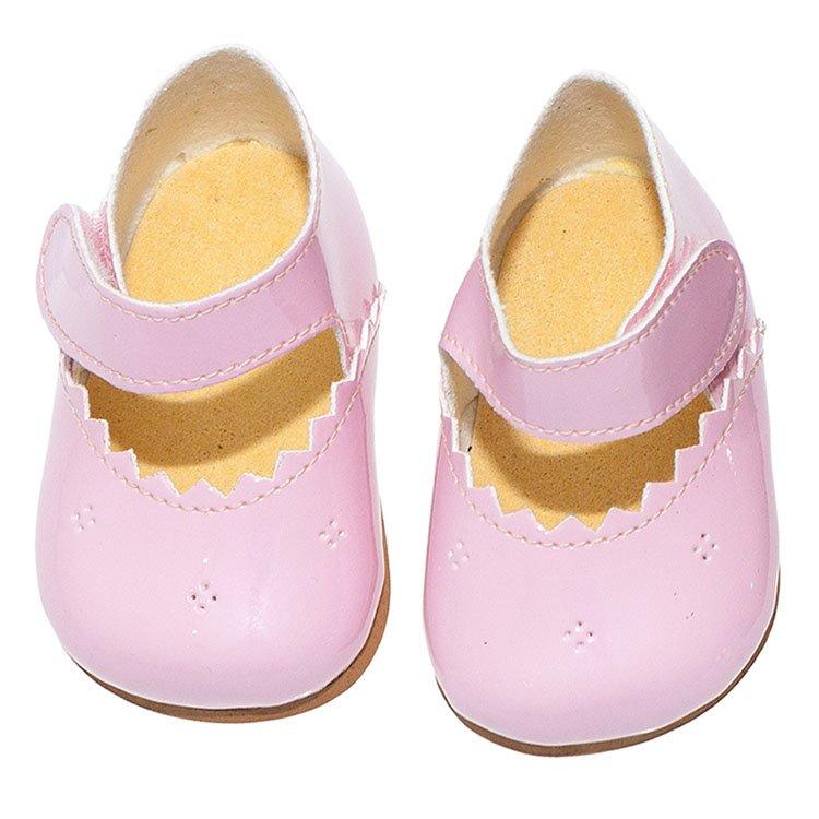 Foto merceditas rosas para muñecas de 43 a 46 centímetros de la marca de muñecas Así