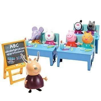 Foto Pepa Pig y juguete vamos al cole
