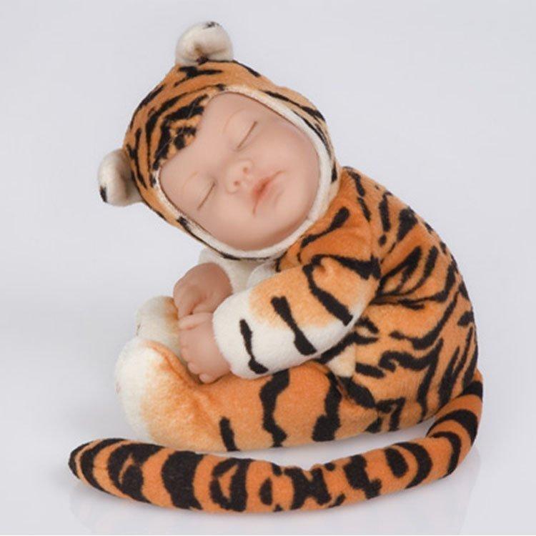 foto muñeco Anne Geddes tigre