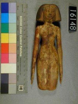 Muñecas de madera egipcias