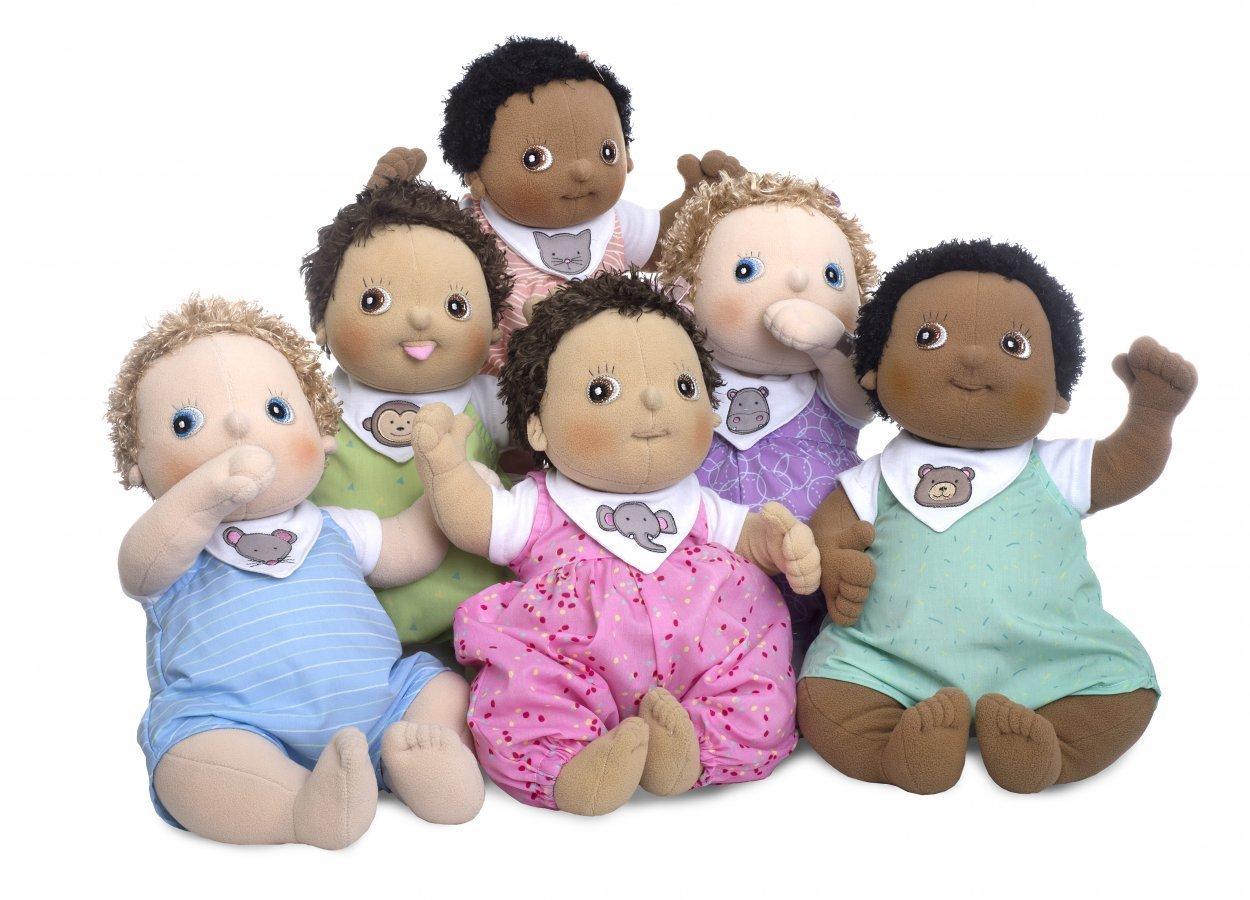 Las muñecas Rubens Barn para aprender jugando con muñecas