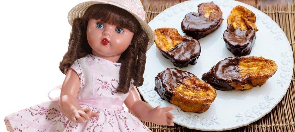 Síguenos para tener más recetas con muñecas