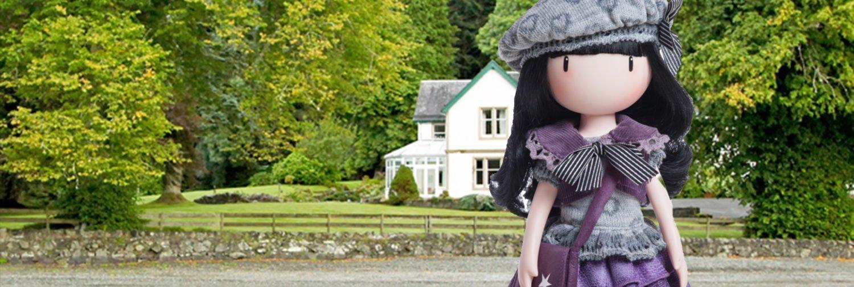 Gorjuss Little Violet muñeca cuerpo casa