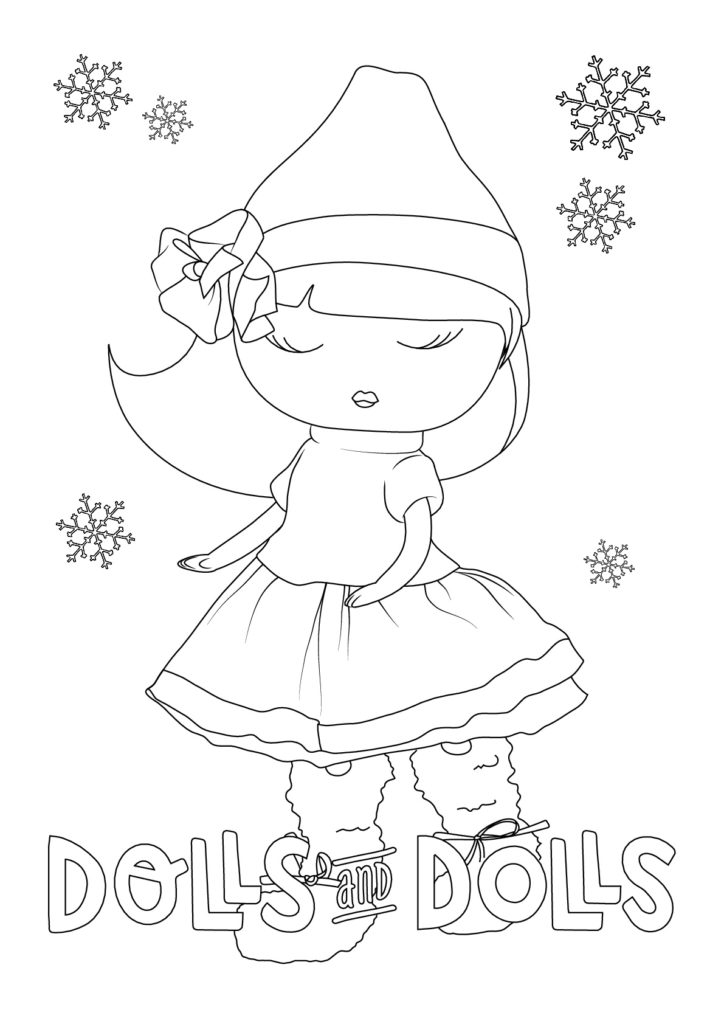 Dibujos de MUÑECAS para COLOREAR GRATIS - Dolls And Dolls
