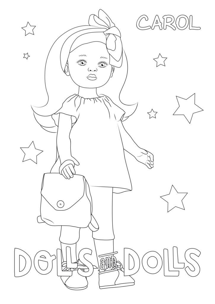 Dibujos De Muñecas Para Colorear Gratis Dolls And Dolls