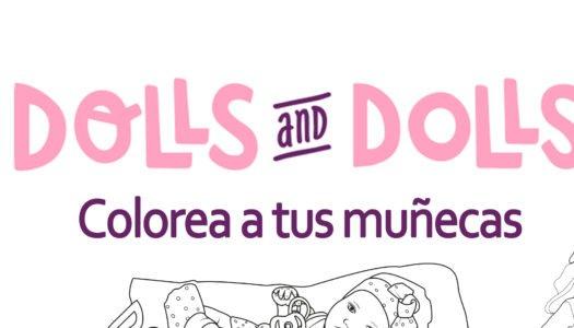 DIBUJOS DE MUÑECAS PARA COLOREAR
