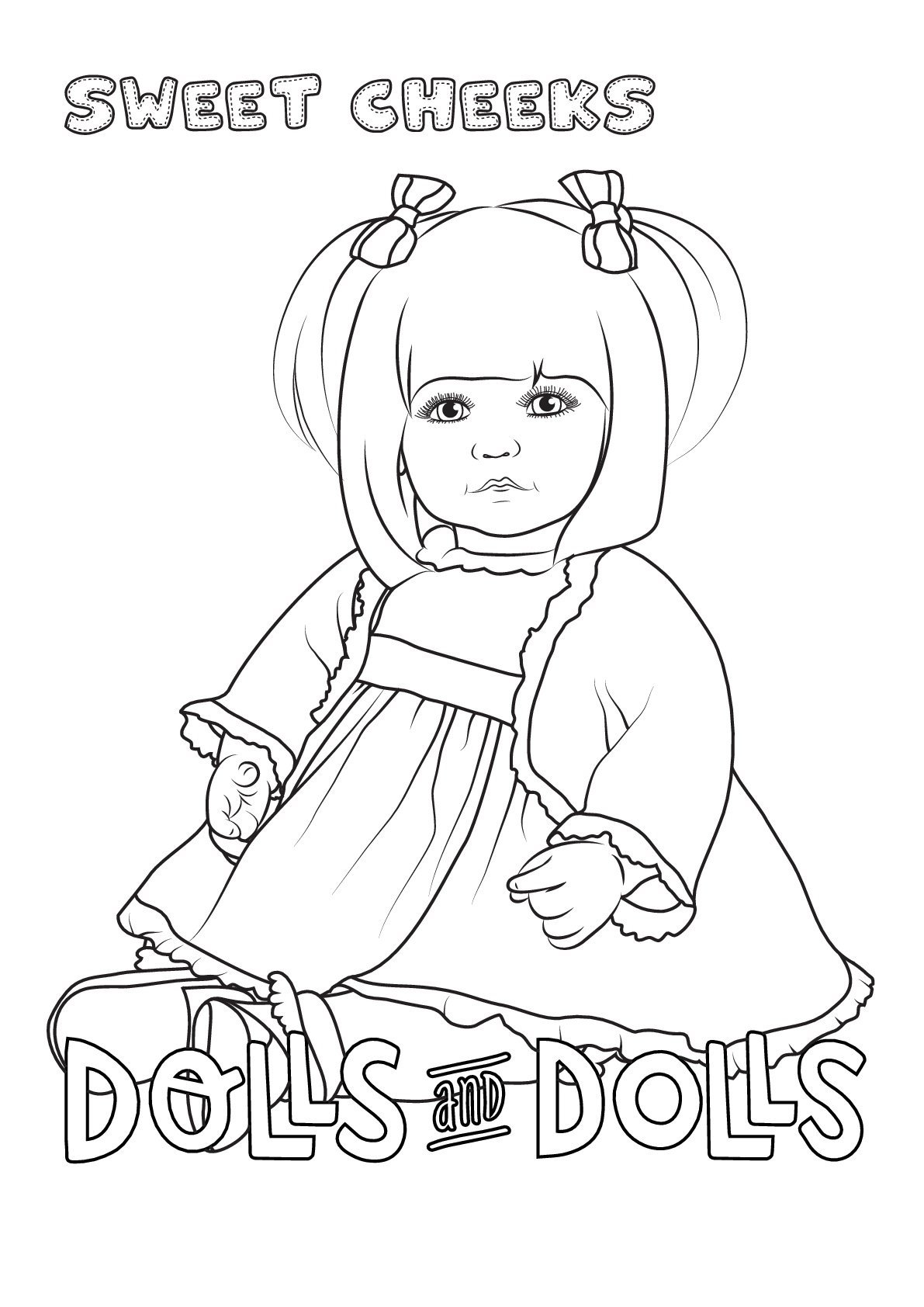 Dibujos De Muñecas Para Colorear Gratis Dolls And Dolls