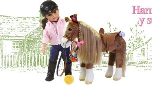 Navidad con Hannah y su pony