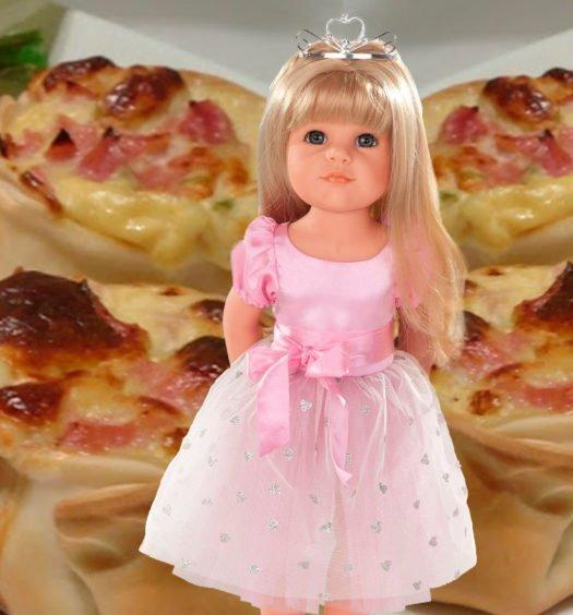 cestas de jamon y queso con la princesa de gotz