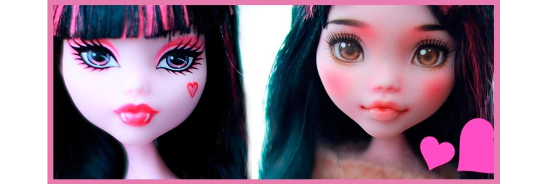 repaint muñecas