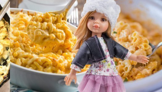 Macarrones con queso al estilo americano con Dasha
