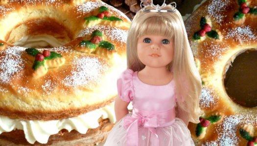 Roscón de Reyes con Hannah Princess