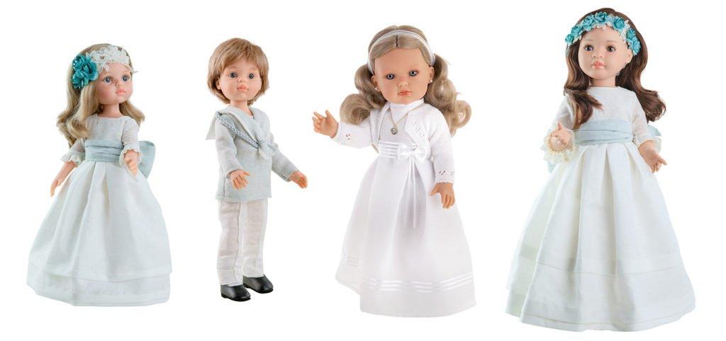 Muñecas de comunión actuales