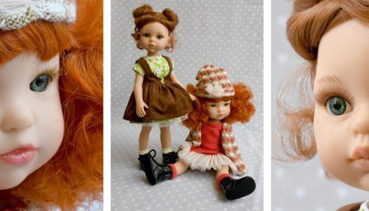 Comparativa de muñecas: Cristi y Fashion Girl