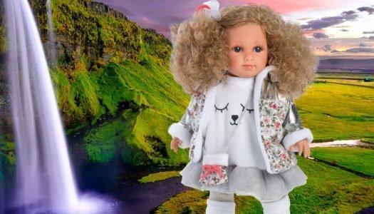 Viaja a Islandia con la muñeca Elena de Llorens