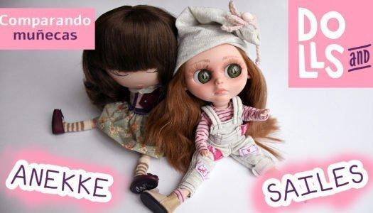 Comparativa de muñecas – Anekke y Sailes Blunn