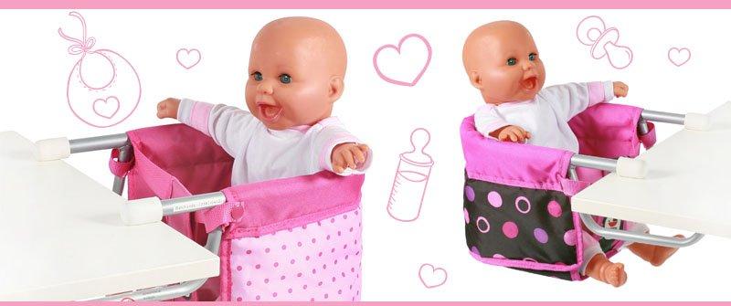10 Accesorios para muñecas: Sillita elevada