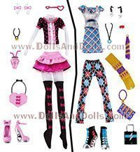 Outfits and accessories Set - Frankie Stein & Draculaura