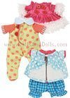 Lalaloopsy Littles - Set - Winter Coat, Pajamas and Play Clothes