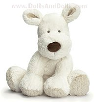 Teddy Cream - White Dog - 26 cm