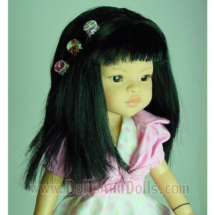 Complementos para muñecas - Pinzas retro Set 6 unidades
