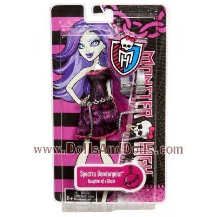 Ropa para muñecas Monster High 27 cm - Vestido de Spectra Vondergeist