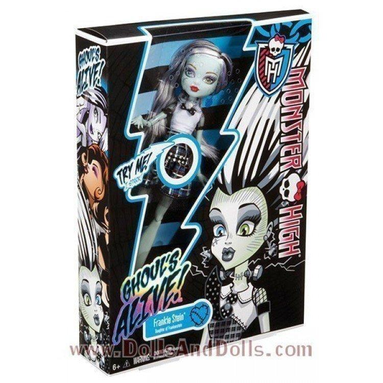 Muñeca Monster High 27 cm - Frankie Stein - Más Viva que Muerta