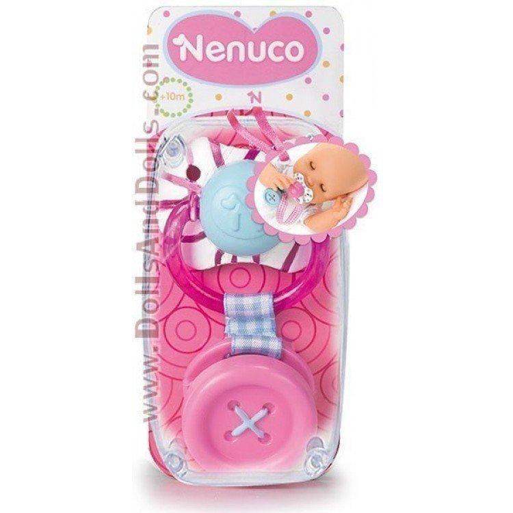 Nenuco Chupetes - Con botón rosa