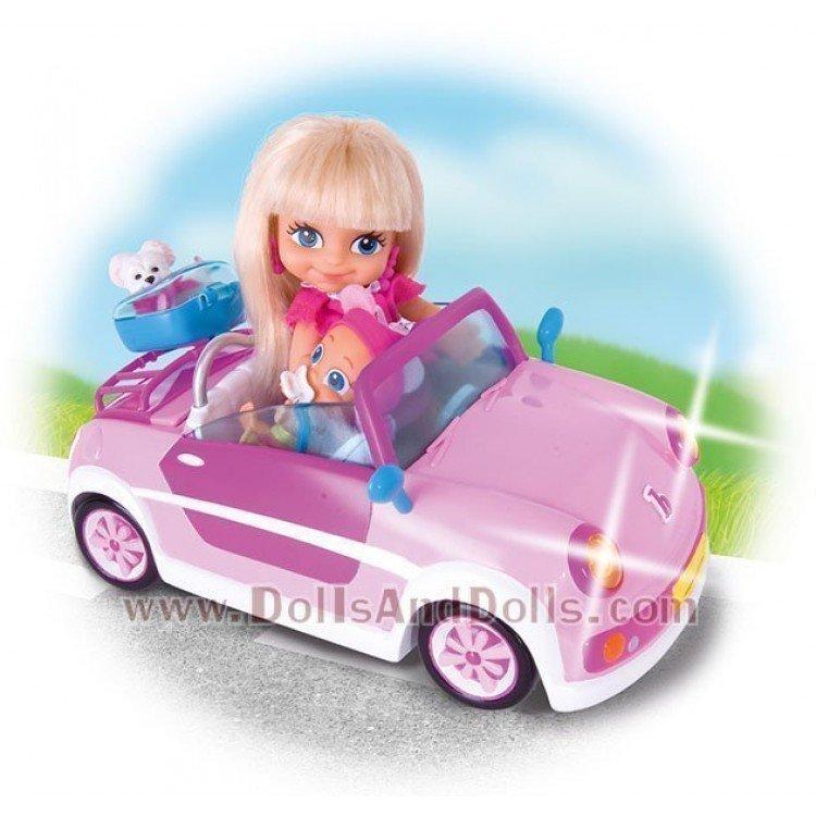 El coche de los barriguitas dollsanddolls mu ecas de - Altura para ir sin silla en el coche ...