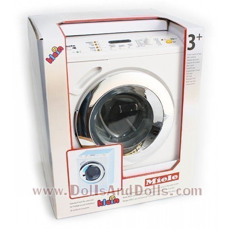 klein 6940 lavadora juguete miele dollsanddolls. Black Bedroom Furniture Sets. Home Design Ideas
