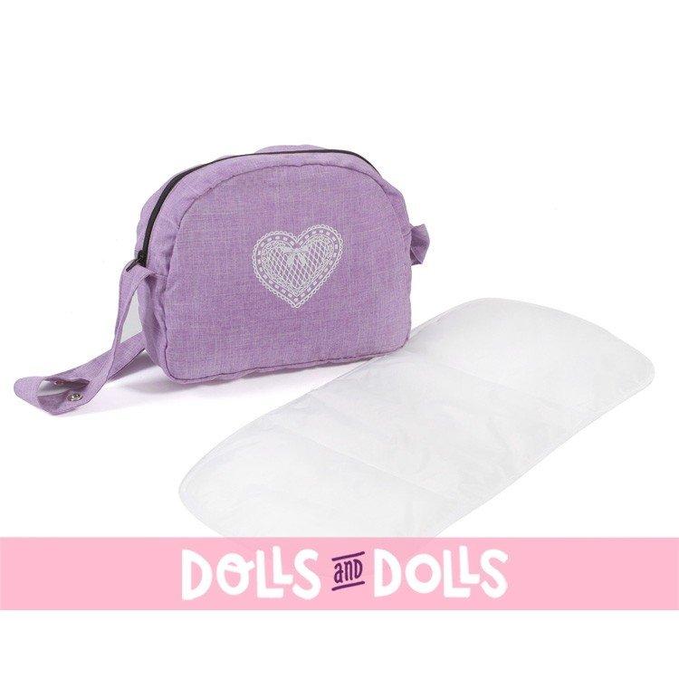 Bolso para cochecito de muñecas - Bayer Chic 2000 - Lila