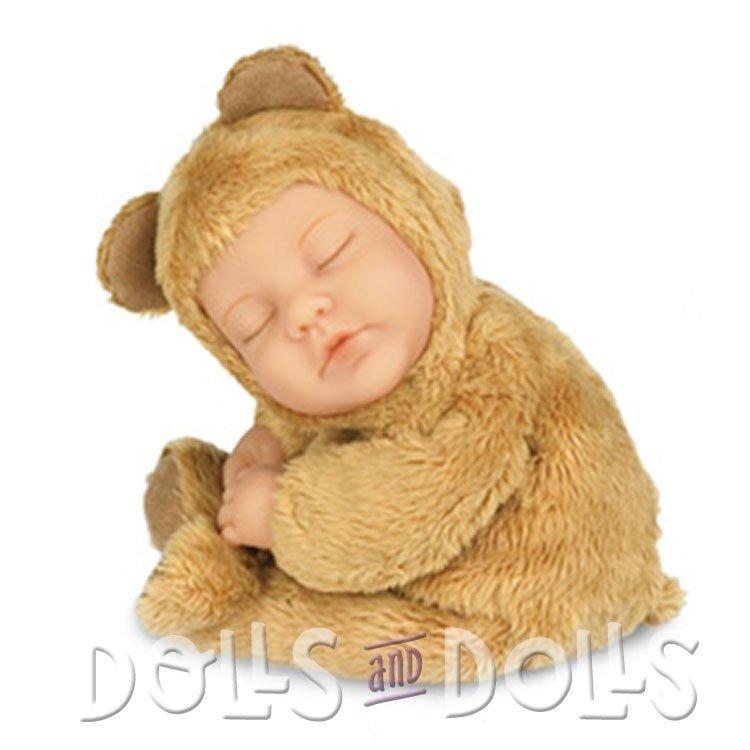Muñeca Anne Geddes 23 cm - Bebé Oso marrón caramelo