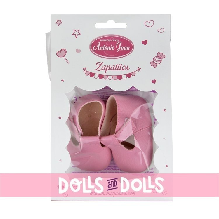 Complementos para muñecas Antonio Juan 40-42 cm - Botitas rosa