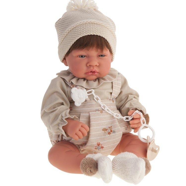 Muñeco Antonio Juan 40 cm - Nacido niño parejita