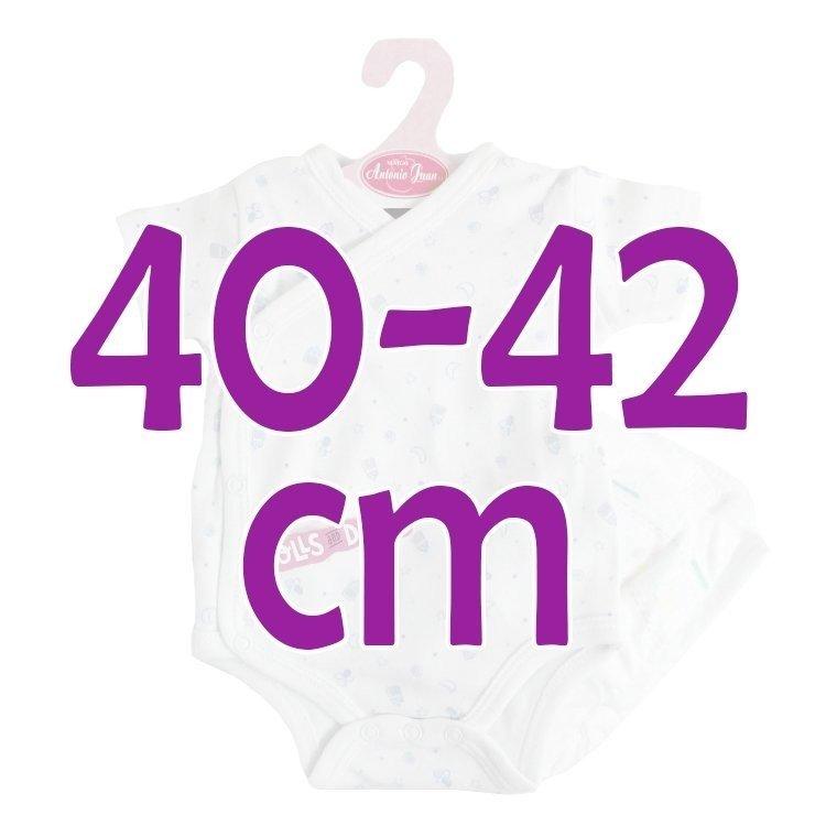 Ropa para muñecos Antonio Juan 40 - 42 cm - Colección Sweet Reborn - Body estampado con pañal