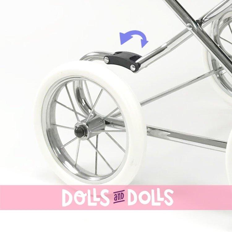 Cochecito Arrue 90 cm para muñecas - Princess Jr - Marino
